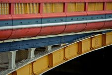 Free A Colorful Bridge, Transport Vehicle Royalty Free Stock Photography - 8822417