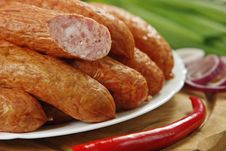 Free Smoked Sausages Stock Photo - 8822570