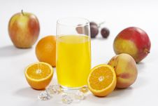 Free Juice Glass Royalty Free Stock Photography - 8822577