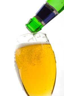 Free Cold Lager Royalty Free Stock Photo - 8822715