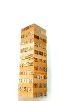 Free Wood Block Series 1 Stock Image - 8822721
