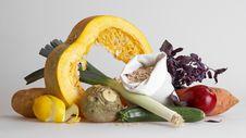 Vegetables Closeup Stock Image