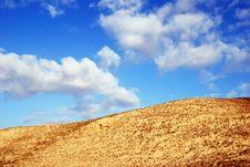 Free Desert Hill Royalty Free Stock Photos - 8822878
