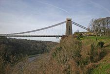 Free Clifton Suspension Bridge Stock Image - 8823031