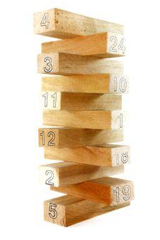 Free Wood Block Series 5 Royalty Free Stock Image - 8825616