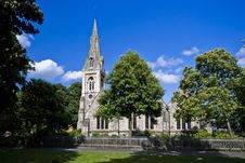Wanstead Christ Church Royalty Free Stock Photo