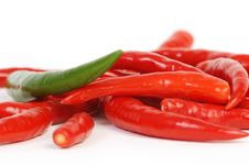 Free Macro Peppers Royalty Free Stock Photos - 8826178