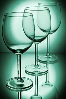 Free Wine Glasses Royalty Free Stock Images - 8826249
