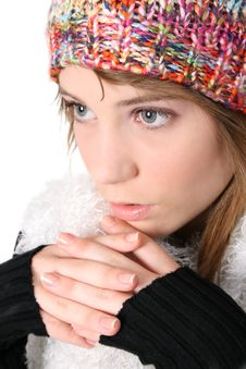 Free Winter Teen Royalty Free Stock Images - 8826809