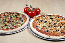 Free Pizza Combo Deal Royalty Free Stock Images - 8826899