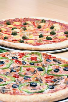 Free Pizza Combo Deal Stock Image - 8827051
