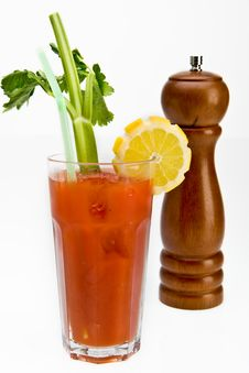 Bloody Mary Cocktail Stock Photography