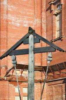 Construction Of New Christian Church Stock Photo