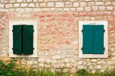 Free Shuttered Windows Stock Photos - 8827273