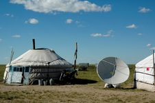 Free Yurt Royalty Free Stock Image - 8828036