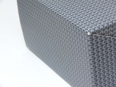 Free Side View Of A Patterned Box (middle In Focus) Stock Photo - 8828950