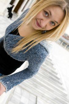 Free Beautiful Blonde Girl Stock Photo - 8829150