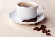 Free Cup Of Coffee Royalty Free Stock Image - 8829216