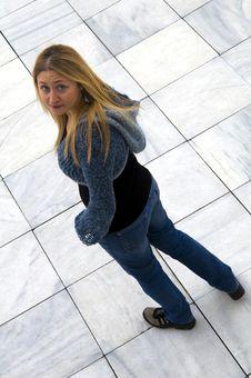 Free Beautiful Blonde Girl Royalty Free Stock Photography - 8829247