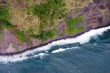 Free Sky View Of Ocean Against Cliff Royalty Free Stock Photos - 88262518