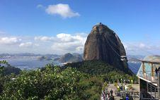 Free Sugar Loaf Mountain Cable Car &x28;Pão De Açúcar&x29;, Rio De Janeiro, Brazil Stock Image - 88262841