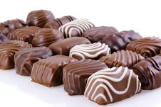 Free Bonbons In Line. Stock Photo - 8830210