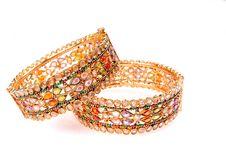 Free Golden Bracelets Stock Photo - 8830870