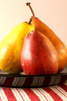 Free Three Pears Stock Photo - 8832210