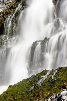 Free Waterfall At Thousand Springs - More In Portfolio Stock Images - 8832384