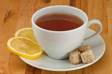 Free Tea And Lemon Stock Photo - 8832430