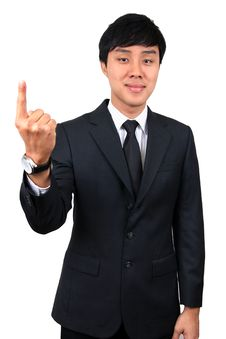 Free Young Asian Business Man. Royalty Free Stock Image - 8832876