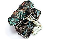Free Oriental Jewelry Bag / Holder Royalty Free Stock Photography - 8833017