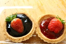 Free Strawberry Patty Royalty Free Stock Images - 8833809