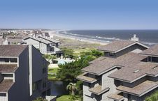 Free Beachfront Condos Royalty Free Stock Photo - 8834485