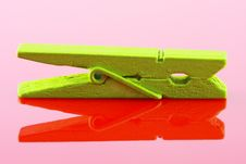 Free Wooden Clothespin Stock Photography - 8834572