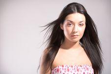Free Beauty Woman Portrait Stock Image - 8834681