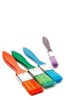 Free Paint Brushes Stock Photo - 8834950