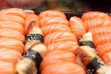Free Set Of Nigiri Sushi Stock Image - 8835021