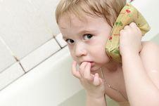 Free Washing Boy Royalty Free Stock Images - 8835029