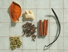Free Assorted Spices Stock Image - 8835481