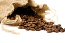 Free Fragrant Fried Coffee Beans Royalty Free Stock Images - 8835579