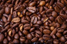 Free Fragrant Fried Coffee Beans Royalty Free Stock Photos - 8835588