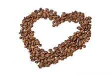 Free Fragrant Fried Coffee Beans Stock Image - 8835591