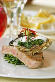Free Grilled Tuna Fish Fillet Royalty Free Stock Image - 8835686