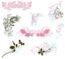 Free Design Elements Royalty Free Stock Photo - 8835795