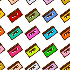 Free Cassettes Royalty Free Stock Photography - 8836617