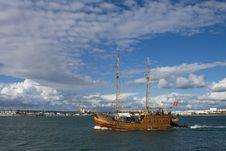 Free Sailing Ship Royalty Free Stock Images - 8836699
