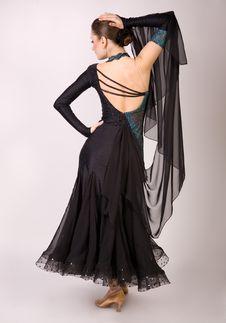 Free Professional Dancer Girl Posing Stock Photo - 8836750