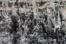 Shabby Wall Royalty Free Stock Image