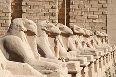Free The Gates Of Karnak. Luxor , Egypt Royalty Free Stock Photo - 8837365